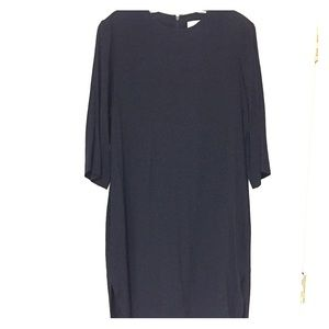 & Other Stories Black Tunic Dress